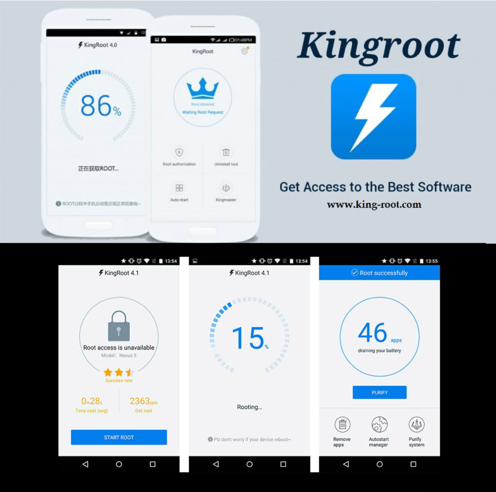 King Root - Root ao seu Android