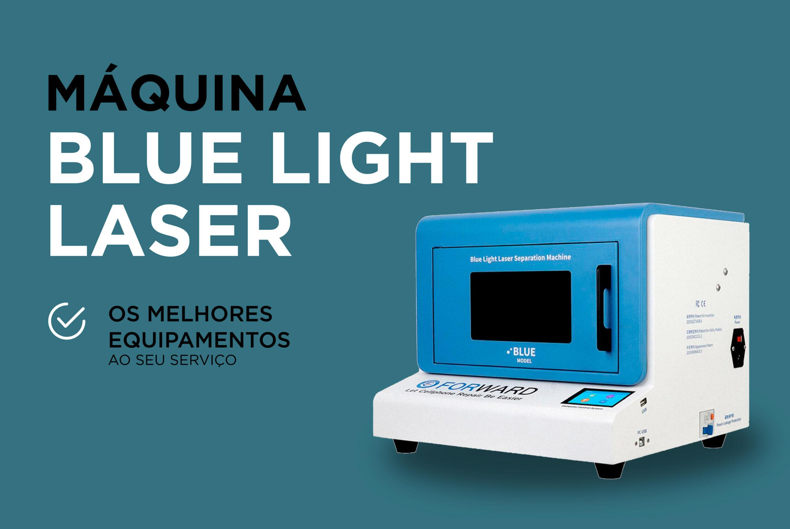 Máquina Blue Light Laser: Os melhores serviços para si!