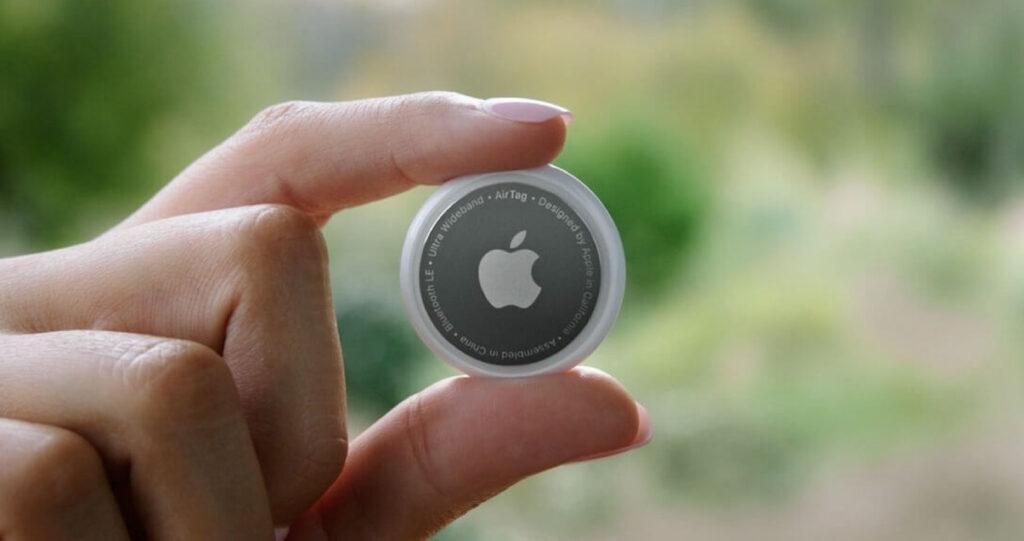 Etiquetas de Localização Apple